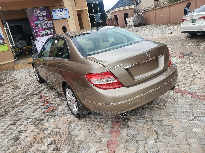 Mercedes-Benz C300 2010 Gold   Cars for sale in Benin City, Edo State, Nigeria