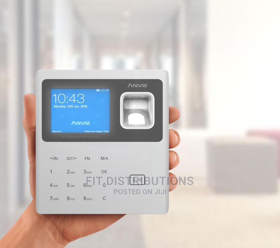Archive: ANVIZ W1 Pro Fingerprint Time Attendance Terminal