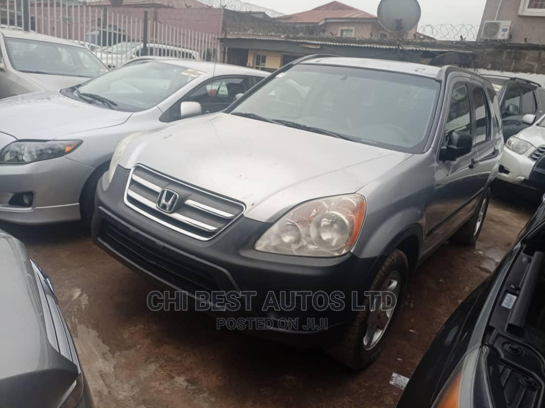 Honda CR-V 2005 Silver   Cars for sale in Ojodu, Lagos State, Nigeria