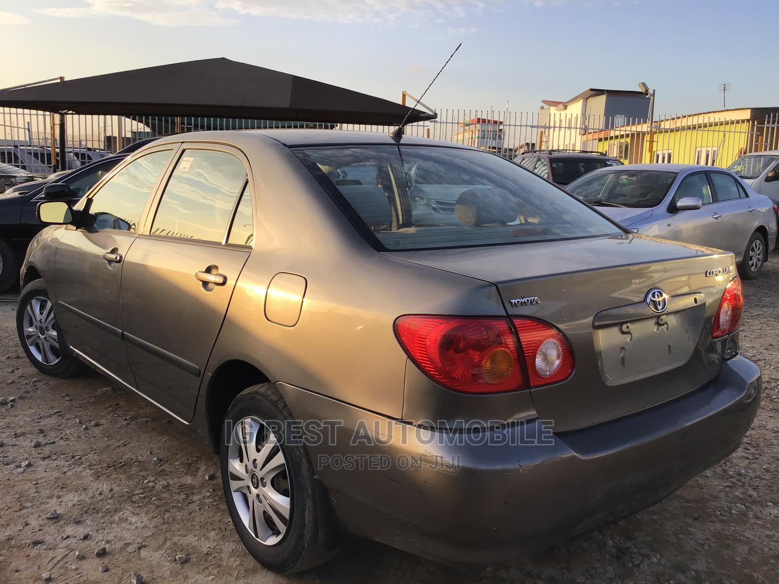 Toyota Corolla 2004 Gray   Cars for sale in Ikeja, Lagos State, Nigeria