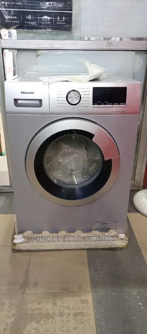 Hisense 8kg Automatic Front Loader Washing Machine | Home Appliances for sale in Lagos State, Ojo