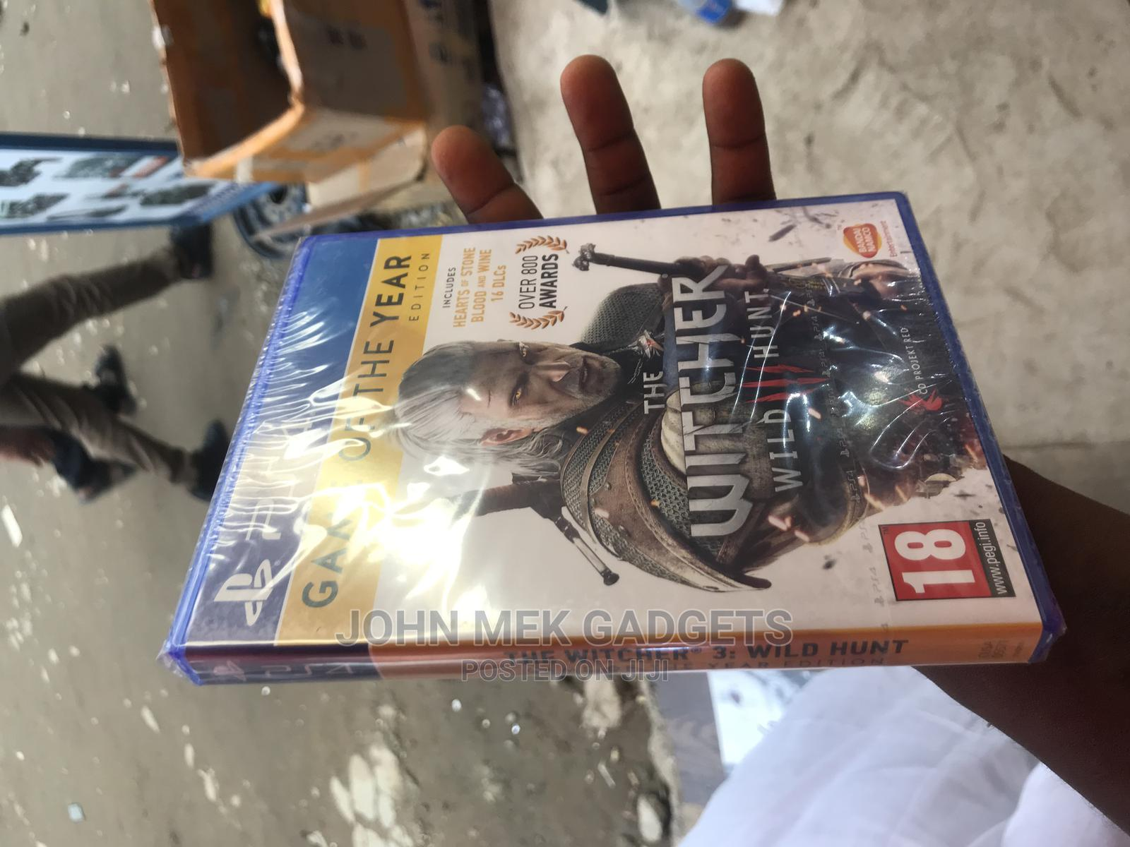 The Witcher Wild Hunt Ps4 Game Cd | Video Games for sale in Ikeja, Lagos State, Nigeria