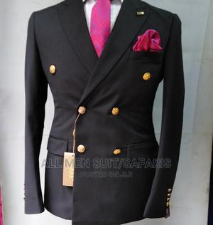 Double Breasted Black Suit | Clothing for sale in Lagos State, Yaba