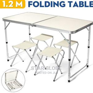 Aluminum Flexible Table Chair Set Portable Camping Funiture | Camping Gear for sale in Lagos State, Ajah