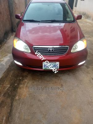 Toyota Corolla 2007 1.4 VVT-i Red | Cars for sale in Imo State, Owerri