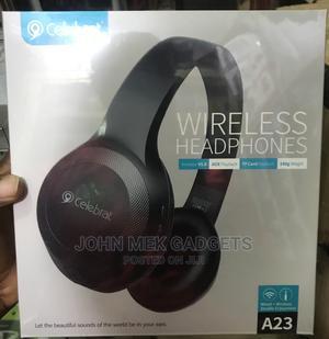 Celebrat Wireless Headset A23 | Headphones for sale in Lagos State, Ikeja