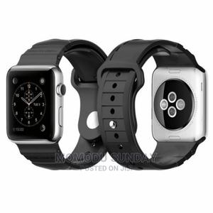 Apple Watch Spigen Rugged Carbon Fiber 44 / 42mm 4/33/2/1 | Smart Watches & Trackers for sale in Lagos State, Ikeja