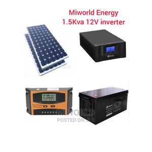 1.5kva 12V Pure Sine Wave Solar System | Solar Energy for sale in Lagos State, Lekki