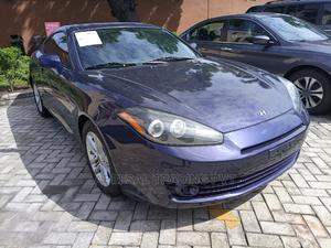 Hyundai Tiburon 2007 2.0 GLS Blue   Cars for sale in Lagos State, Yaba