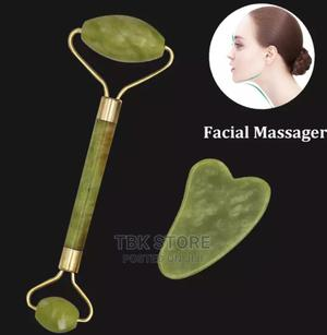 Jade Roller Gua Sha Face Slimming Massager | Tools & Accessories for sale in Lagos State, Ojo
