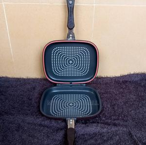 Double Sided Grill Pan | Kitchen & Dining for sale in Lagos State, Ejigbo