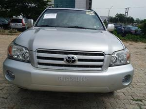 Toyota Highlander 2007 4x4 Silver | Cars for sale in Abuja (FCT) State, Central Business District