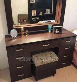 Standing Mirror Table and Side Stool | Furniture for sale in Lagos State, Ojo