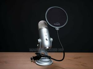 Very Clean Uk Used Blue Yeti USB Condenser Microphone - 9/10   Audio & Music Equipment for sale in Lagos State, Oshodi