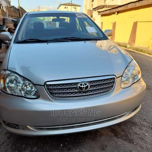 Toyota Corolla 2004 S Silver   Cars for sale in Lagos State, Surulere