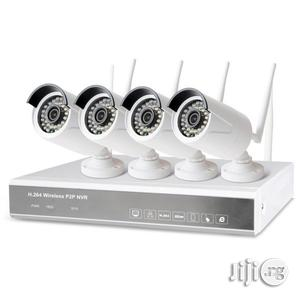 H.264 Wireless P2P Nvr 4channel IP HD Camera Kit | Security & Surveillance for sale in Rivers State, Port-Harcourt