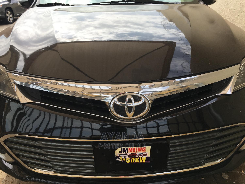 Archive: Toyota Avalon 2013 Black