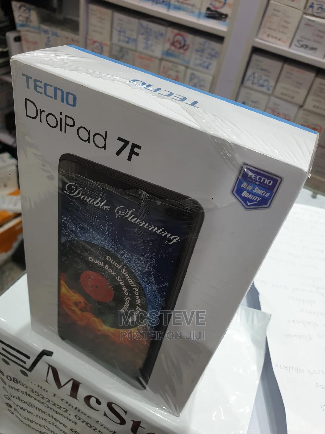 New Tecno DroiPad 7F 16 GB Gray   Tablets for sale in Wuse 2, Abuja (FCT) State, Nigeria