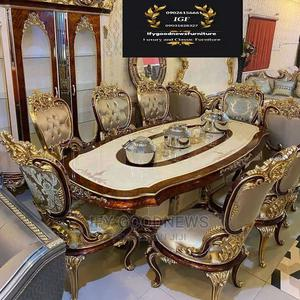Royal Dinning Table by 8 Seaters, Wine Bar, Buffet,Mirror   Furniture for sale in Lagos State, Ojo