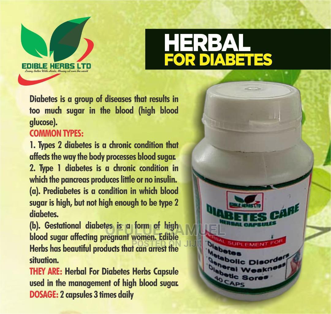 Diabetes Herbal Capsule
