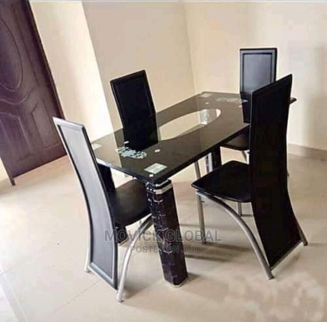Archive: Glass Dinning Table and 4 Chairs