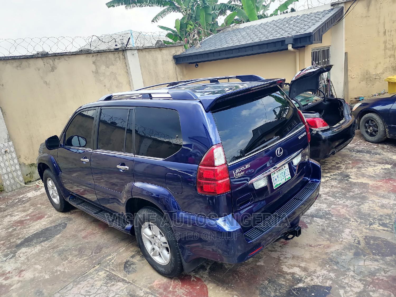 Lexus GX 2008 470 Blue   Cars for sale in Uyo, Akwa Ibom State, Nigeria