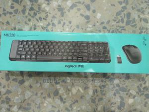 Logitech Mk220 Wireless Keyboard and Mouse | Computer Accessories  for sale in Lagos State, Ikeja
