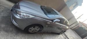 Hyundai Sonata 2009 2.4 GLS Automatic Gray | Cars for sale in Lagos State, Isolo