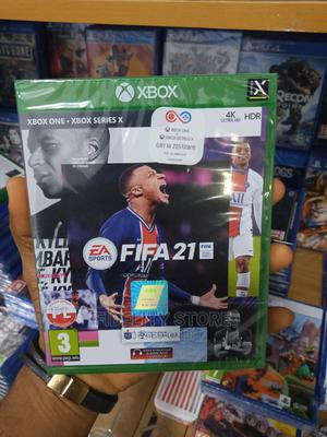 Xbox One-Xbox One X FIFA 2021   Video Games for sale in Lagos State, Ikeja