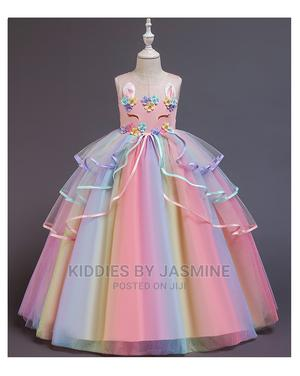 Big Girl Unicorn Long Gown | Children's Clothing for sale in Lagos State, Alimosho