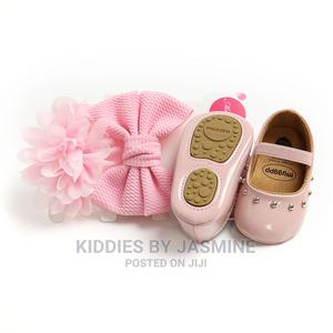 Baby Girl Shoe With Headbands   Children's Shoes for sale in Lagos State, Alimosho