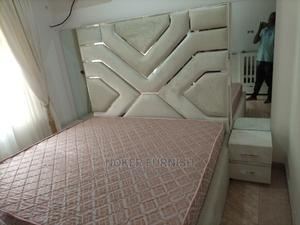 Upholstery Sofa's Frabic Bed With Mirror | Furniture for sale in Lagos State, Lekki