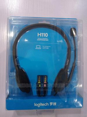 Logitech H110 Wired Headset | Headphones for sale in Lagos State, Ikeja