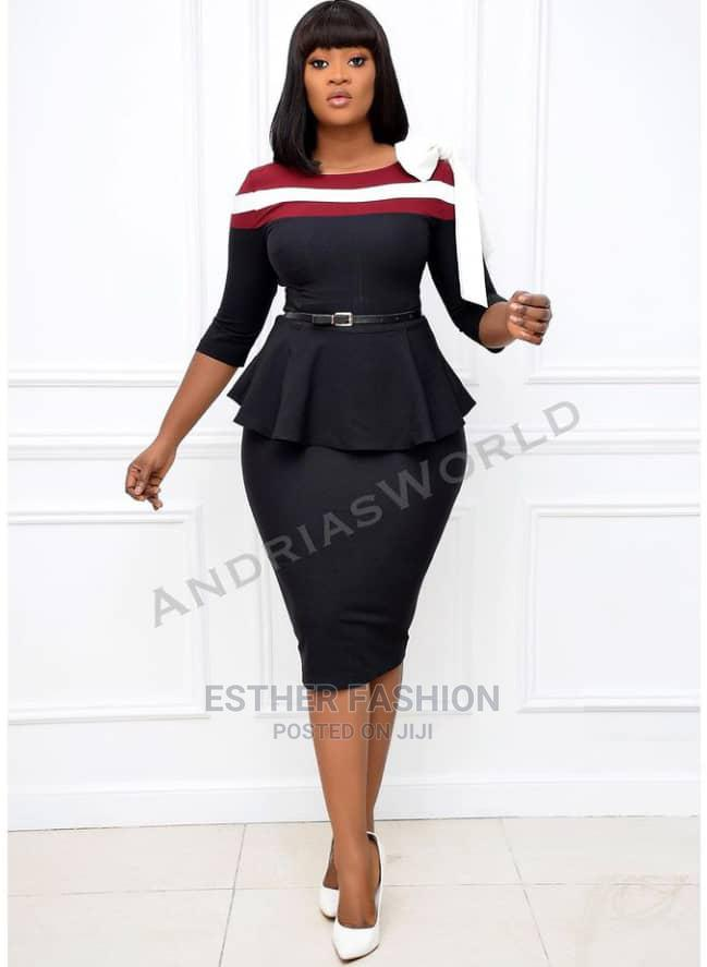 New Quality Ladies Fitted Dress | Clothing for sale in Ikeja, Lagos State, Nigeria