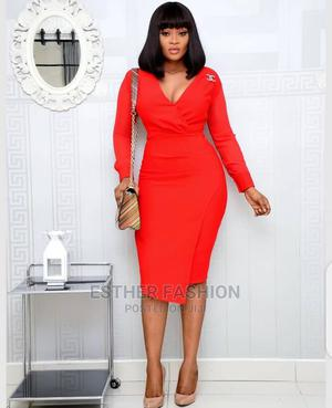 New Quality Ladies Fitted Dress | Clothing for sale in Lagos State, Ikeja