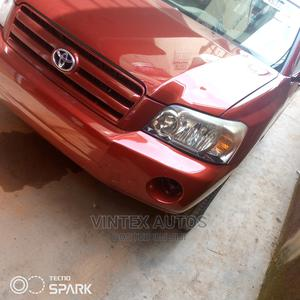 Toyota Highlander 2006 Limited V6 Red   Cars for sale in Lagos State, Amuwo-Odofin