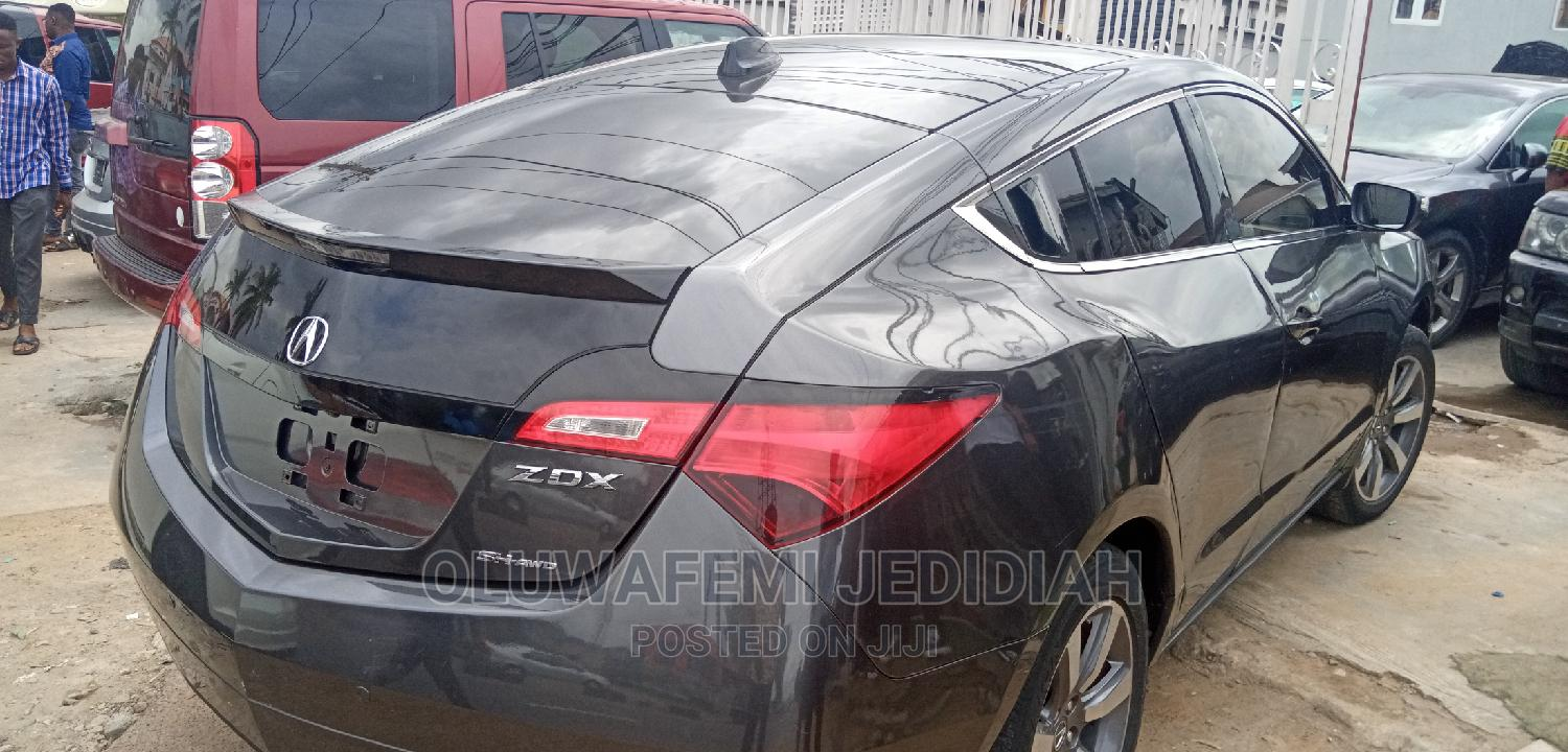 Acura ZDX 2013 Base AWD Black | Cars for sale in Ikeja, Lagos State, Nigeria