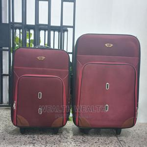 Portable Oxblood Red Swiss Polo Trolley Luggage Bag   Bags for sale in Lagos State, Ikeja