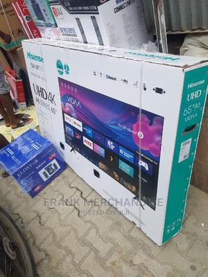 Hisense TV 65inches Powered BY VIDAA Smart Tv | TV & DVD Equipment for sale in Lagos State, Victoria Island