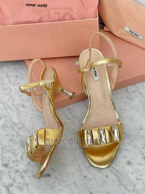 High Quality MIU-MIU Sandals for Women for Sale   Shoes for sale in Lagos State, Magodo