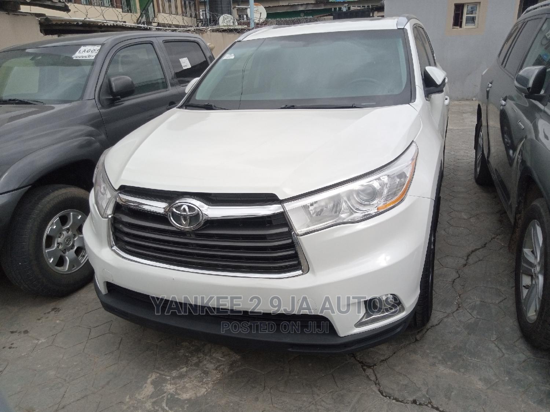 Toyota Highlander 2015 White