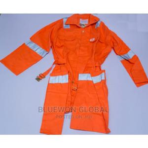 Safety Reflective Coverall - Orange   Safetywear & Equipment for sale in Lagos State, Ikeja