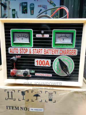 Full Automatic Battery Charger 100amps 12-24v   Measuring & Layout Tools for sale in Lagos State, Ojo