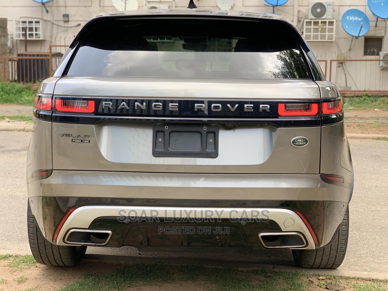 Archive: Land Rover Range Rover Velar 2018 P380 HSE R-Dynamic 4x4 Gray
