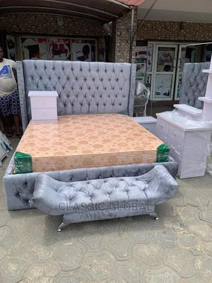 Upholstery Bedframe 6x6 | Furniture for sale in Lagos State, Ikoyi