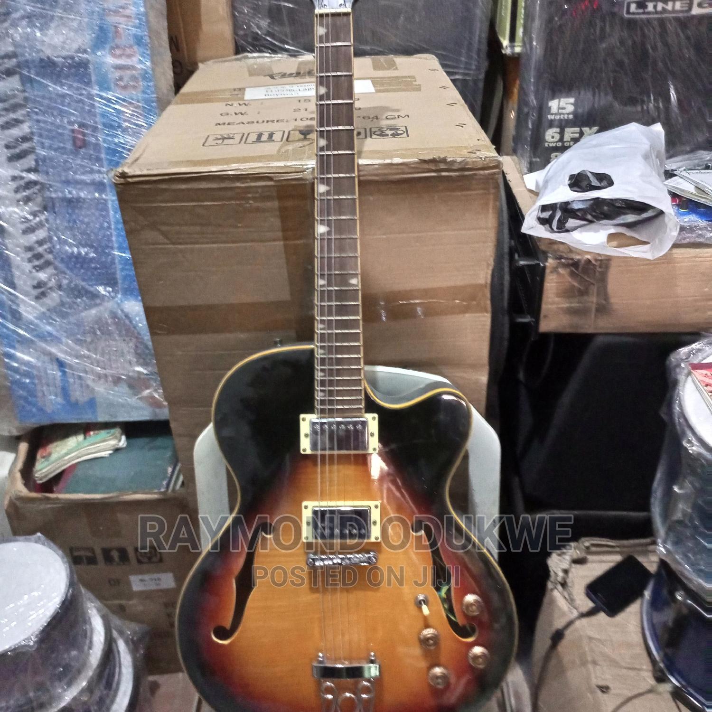 Singer Professional Semi Electric Jazz Guitar