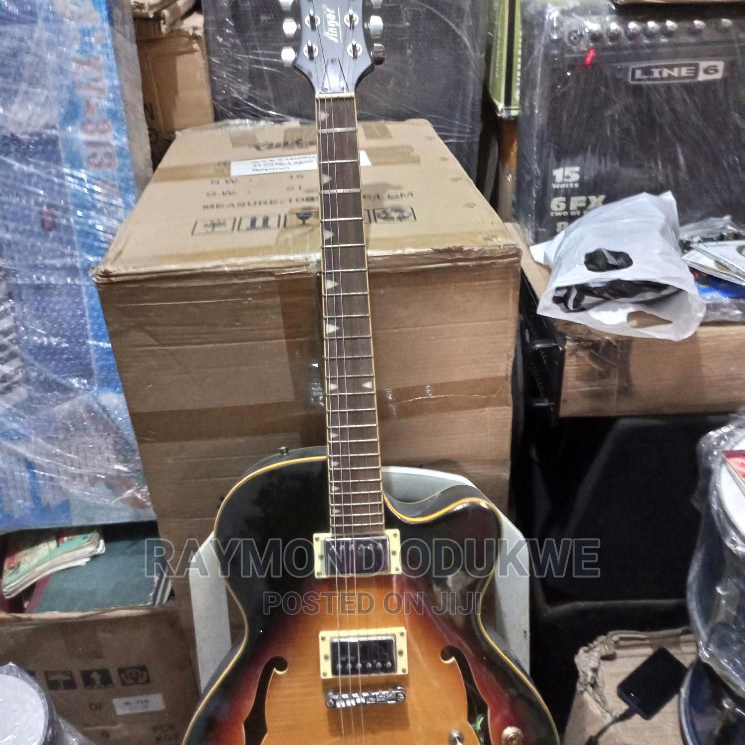 Singer Professional Semi Electric Jazz Guitar | Musical Instruments & Gear for sale in Ikeja, Lagos State, Nigeria