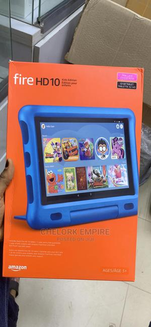 New Amazon Fire HD 10 32 GB Blue   Tablets for sale in Lagos State, Ikeja