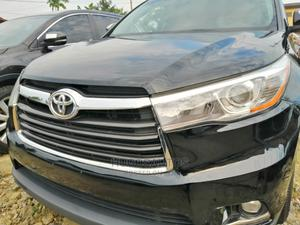 Toyota Highlander 2015 Black   Cars for sale in Rivers State, Port-Harcourt