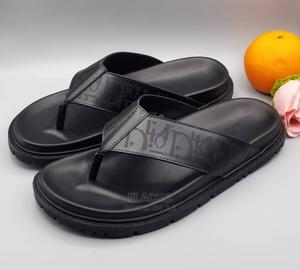 Original Christian Dior Black Slippers Available | Shoes for sale in Lagos State, Surulere